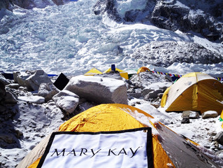 POWERED BY MARY KAY: MOUNT EVEREST CLIMBER INSPIRES WOMEN WORLDWIDE TO DISCOVER WHAT THEY LOVE