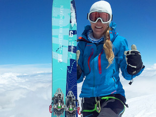 Mont Blanc climb and epic ski descent!
