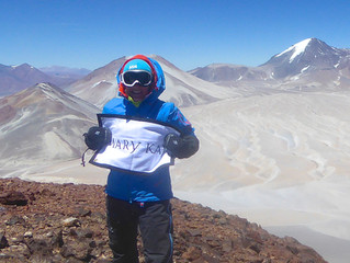 'Ojos Del Salado'-Chile. Summit of the highest active volcano in the world!!!