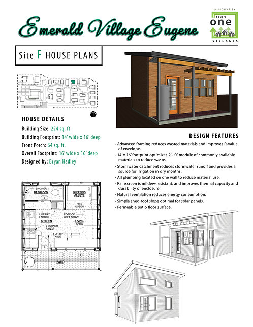 "EVE Site ""F"" House Plans"