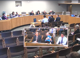 Oregon House Committee Hearing on Tiny Houses