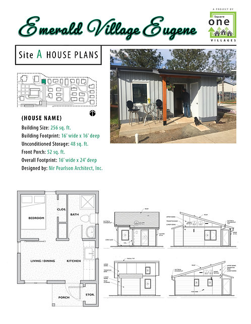"EVE Site ""A"" House Plans"