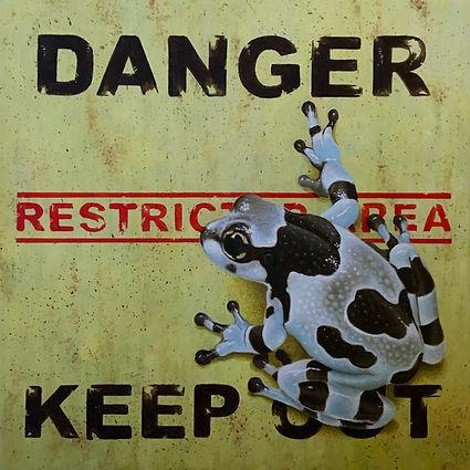 Restricted Area - Milk Frog