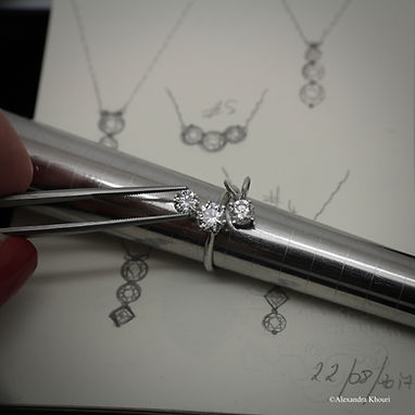 Diamants, Alexandra Khouri, Sur Mesure