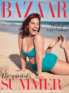 HARPER'S BAZAAR ASHLEY GRAHAM ALEXANDRA KHOURI HEXA