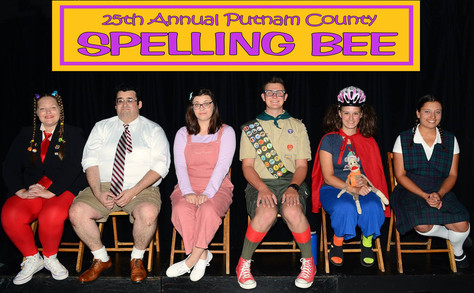 """Congratulations to the """"25th Annual Putnam County Spelling Bee"""" cast!"""