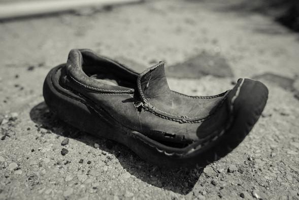 נעל ישנה