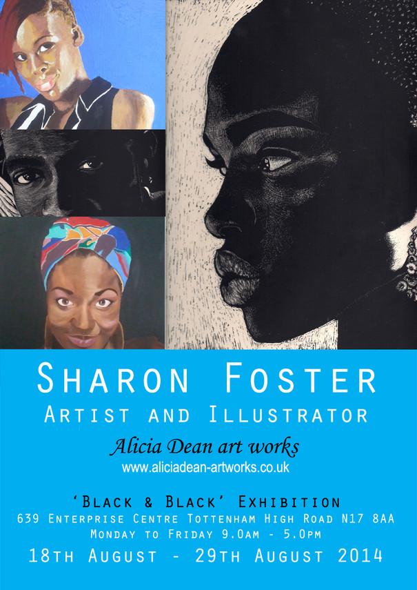 Sharon Foster Black 'n' Black Poster 72R