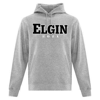 HOODIE with  ELGIN Grad Logo
