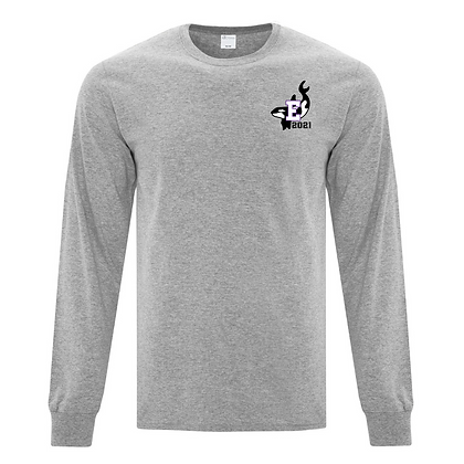 LONG SLEEVE TEE with  ORCA Grad Logo