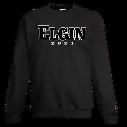 CHAMPION CREW with  ELGIN Grad Logo