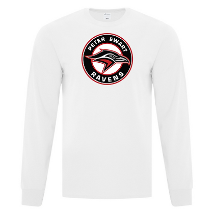 ADULT L/S TEE with  spirit logo