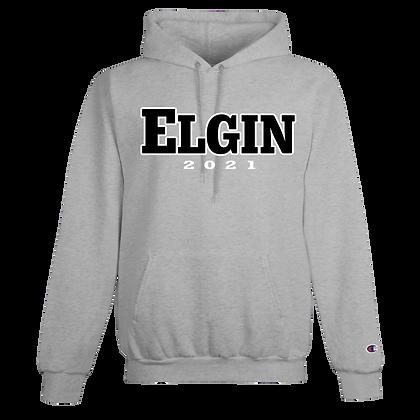 CHAMPION HOODIE with  ELGIN Grad Logo