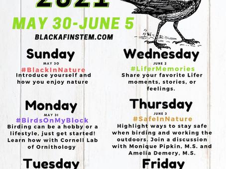 Black Birders Week!