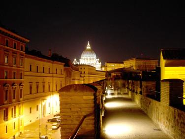 San Pietro view from Passetto