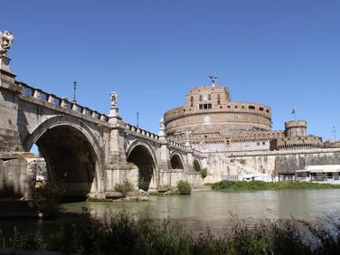 Tiber water front
