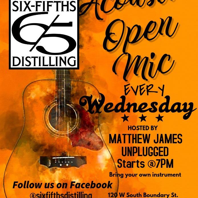 Open Mic Night with Matthew James