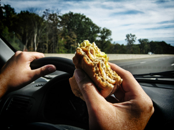 Why eating when you're stressed can be fattening