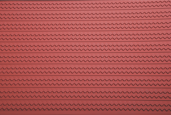 Zig Zag Silicone Relief Mat