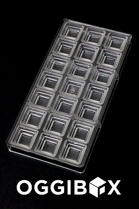 Oggibox Clear Polycarbonate Aztec Pyramid Chocolate Mold Jelly Candy Making Mold