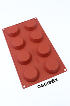 Oggibox 8-Cavity Tart Silicone Mold