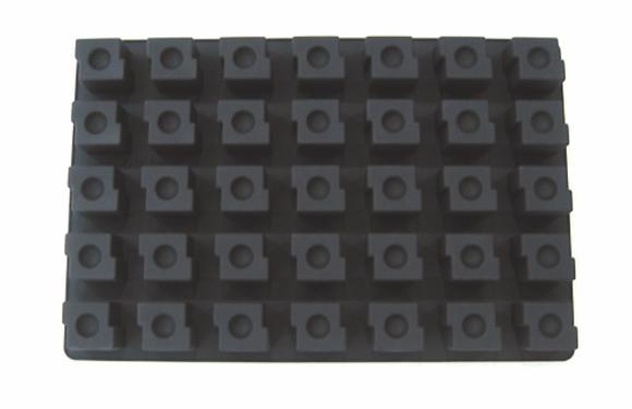 35-Cavity Square Silicone Mold