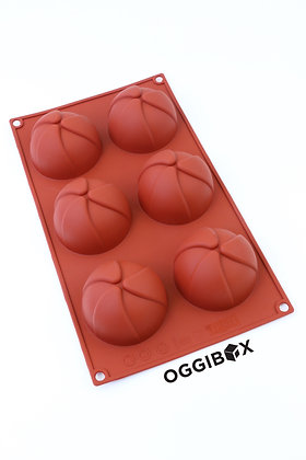 Oggibox 6-Cavity Pinwheel Silicone Mold