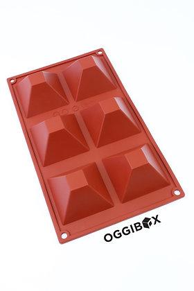 Oggibox 6-Cavity Pyramid Silicone Mold