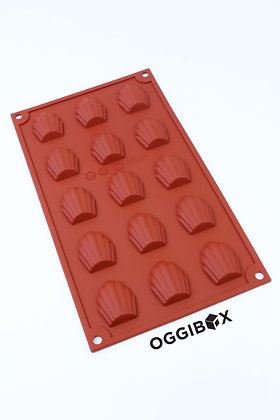 15-Cavity Shell Silicone Mold