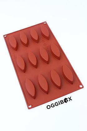 Oggibox 12-Cavity Oblong Shaped Silicone Mold