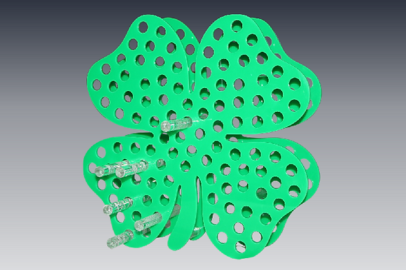 4-Leaf Clover Rolling Pin Rack
