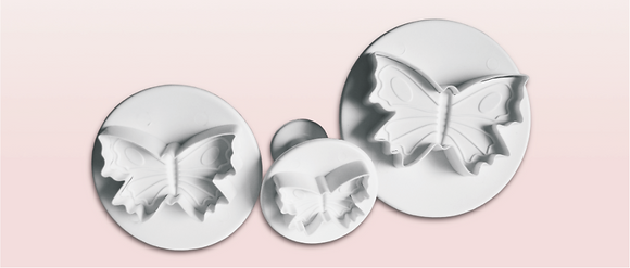 3-PC Butterfly Plastic Cutter [small]