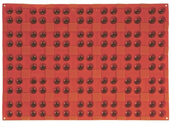 96-Cavity 4-Half Sphere Silicone Mold