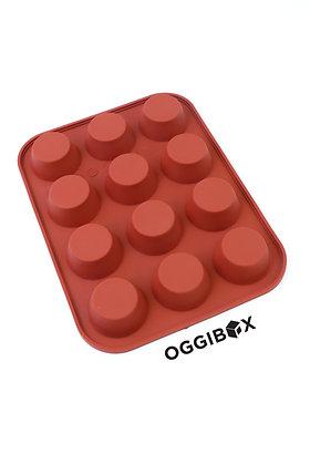 Oggibox 12-Cavity Mini Muffin Silicone Mold