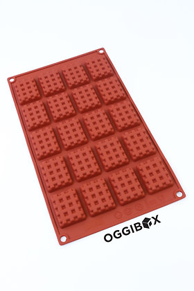 Oggibox 20-Cavity Mini Waffle Silicone Mold