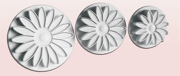 3-PC 16-PT Flower Plastic Cutter