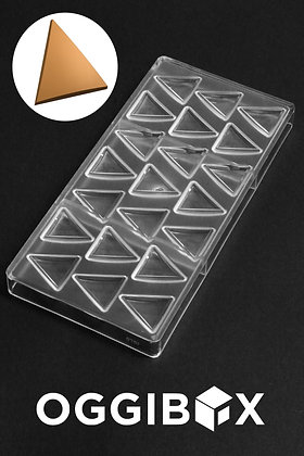 Oggibox Clear Polycarbonate Pyramid Chocolate Mold Jelly Candy Making Mold