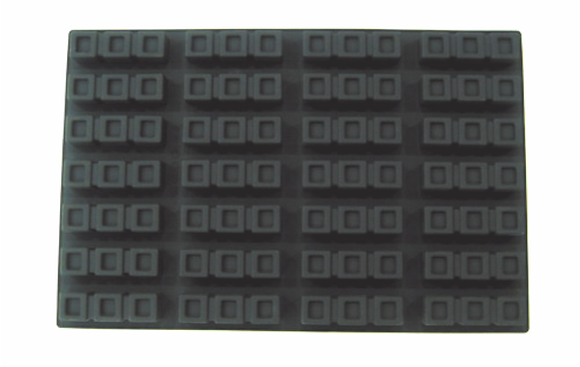 28-Cavity 3-Square Silicone Mold