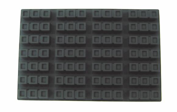 28-Cavity 3-Square Silicone Mold
