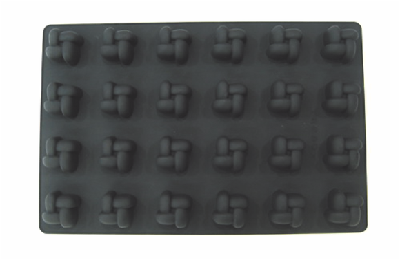 24-Cavity Square Silicone Mold