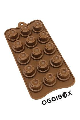 Oggibox 15 Cavity Swirling Chocolate Silicone Mold