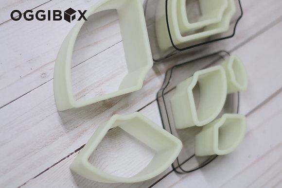 Oggibox 7pc Fan Nylon Cutter Set