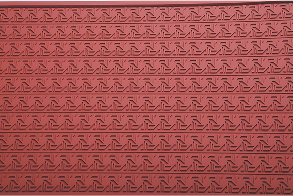 Sailboat Pattern Silicone Relief Mat