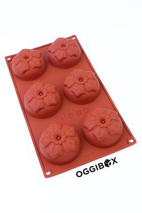 Oggibox 6-Cavity Tomato Silicone Mold