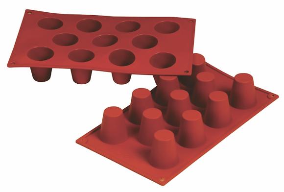 11-Cavity Cone Silicone Mold
