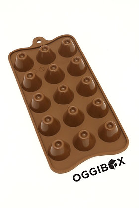 Oggibox 15 Cavity Volcano Chocolate Silicone Mold