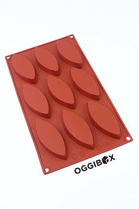 Oggibox 9-Cavity Oblong Shaped Silicone Mold