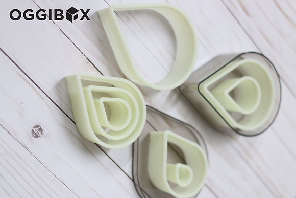 Oggibox 8pc Teardrop Nylon Cutter