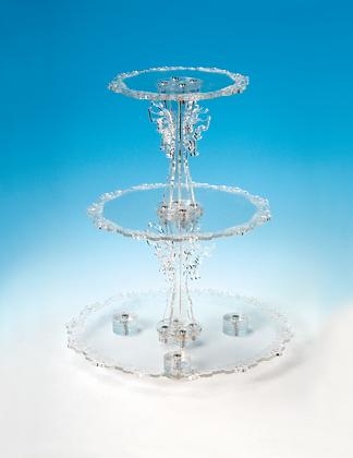 Elegant Circular Stand