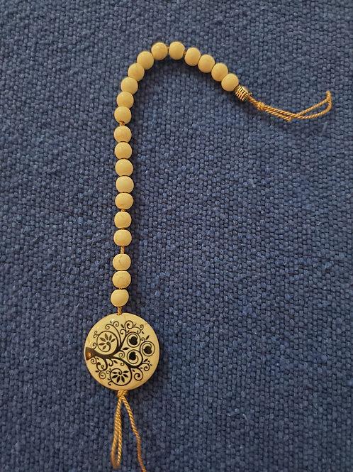 Pendulum wooden and ceramic